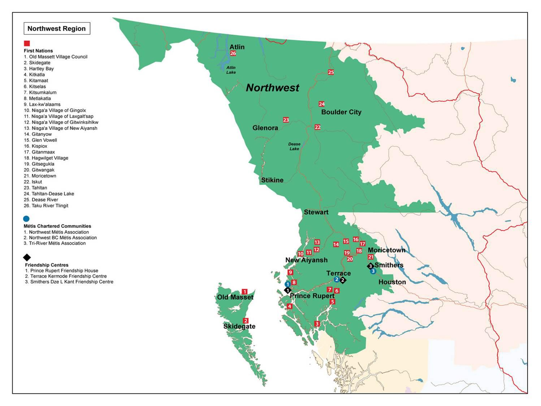 Northwest Map