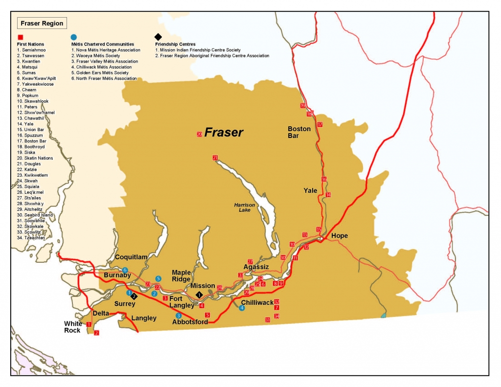 Fraser Regional Action Plan And Map