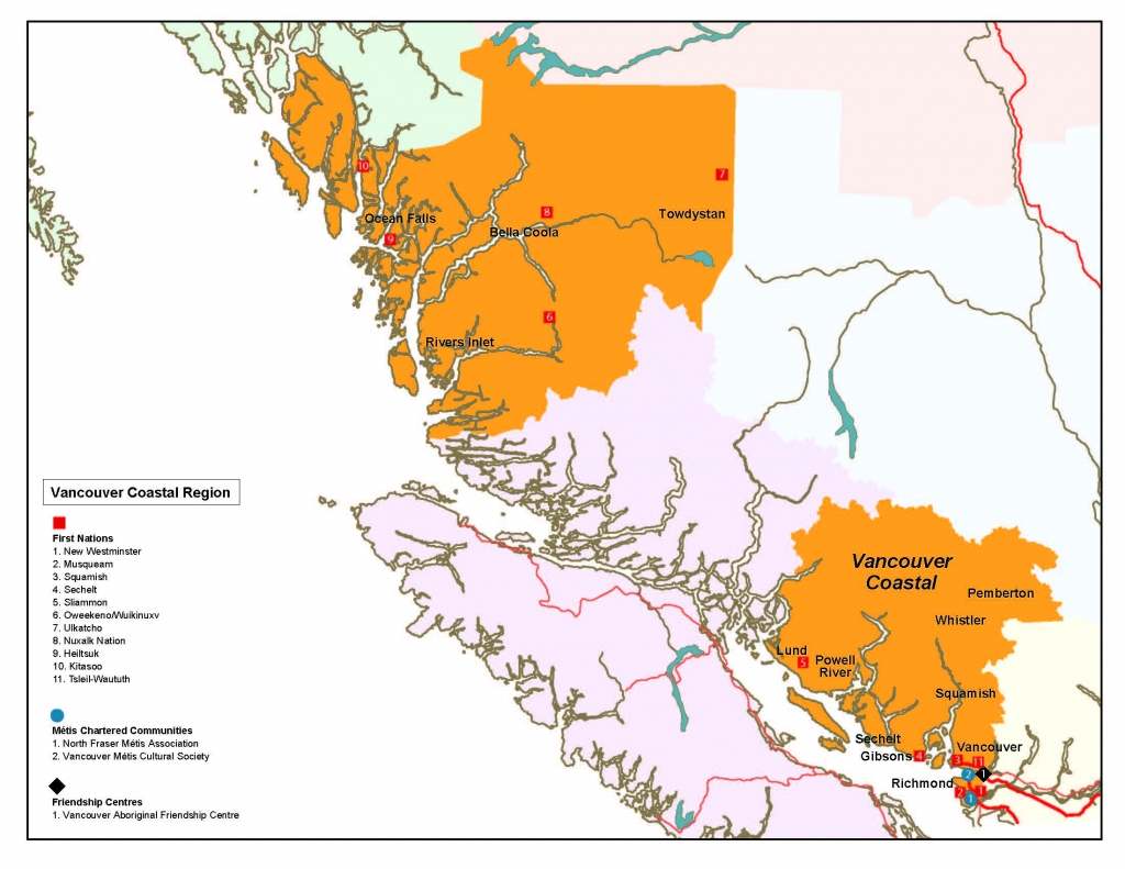 Vancouver Coastal Regional Action Plan And Map