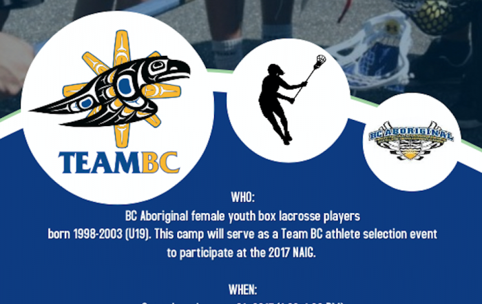 Team BC Female Lacrosse Selection Camp