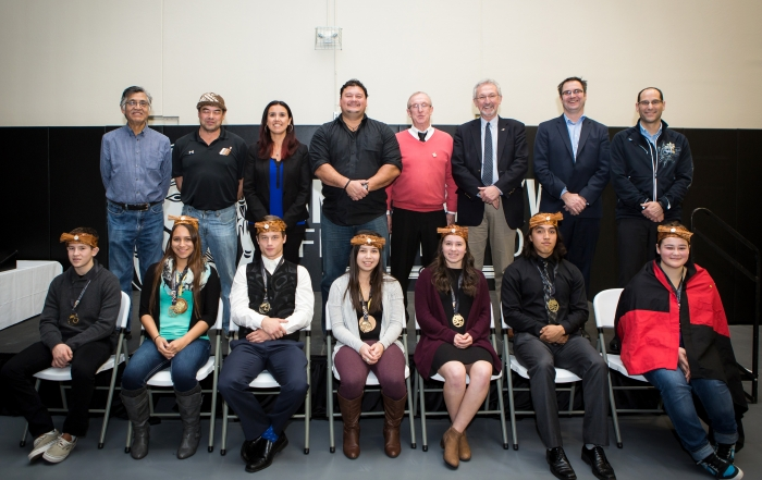 VANCOUVER ISLAND Honours Recipients of the 2016 Premier's Awards for Aboriginal Youth Excellence in Sport