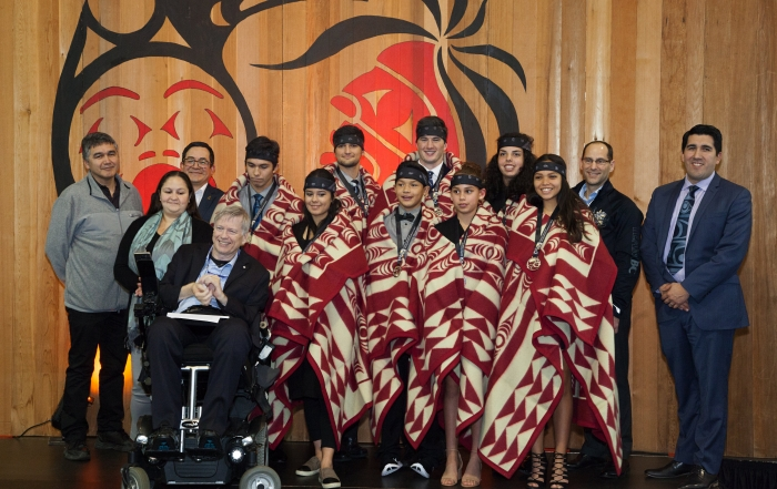 Vancouver Coastal Honours Recipients of the 2016 Premier's Awards for Aboriginal Youth Excellence in Sport