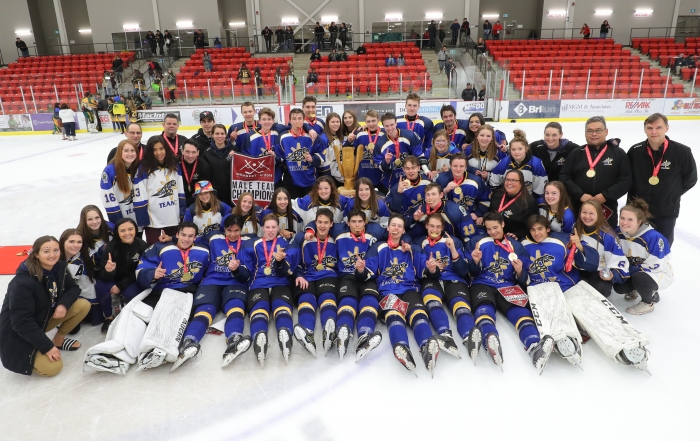 Male Team BC Wins 2018 National Aboriginal Hockey Championships
