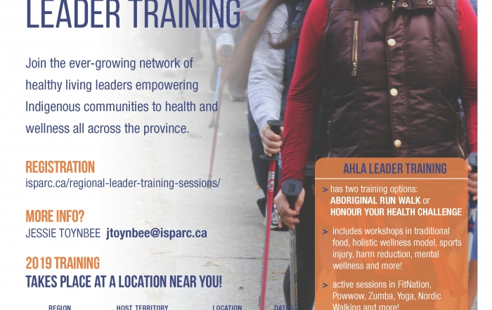 Save the Date! Healthy Living Leader Training