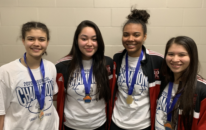 Team BC basketball players win Provincial High School titles